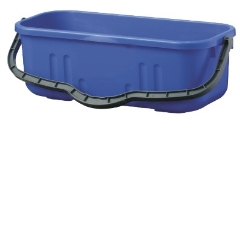 Bucket  18L OBLONG BLUE Duraclean (adv)