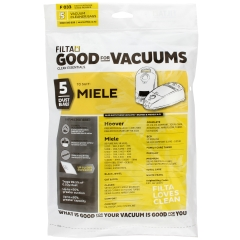Vac Bags for MIELE COMPACT F033 x 5