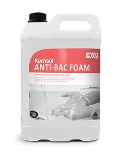 Soap ANTI-BAC FOAM Antimicrobial Foaming