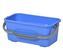 Bucket  12L OBLONG BLUE