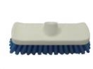 Broom DECK SCRUB Red 200mm 71208 (nzb) incls Handle