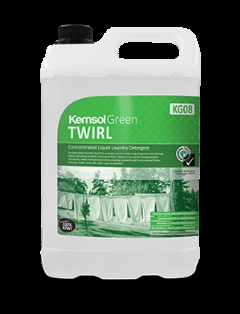 Green TWIRL Laundry Liquid 20L