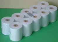 EFTPOS ROLLS Bond  76x76 2ply White/Yellow x 50