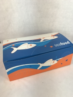 Large Seafood Snack Boxes x 250